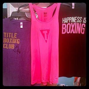 Title Boxing Nike racerback tank